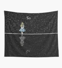 Alice In Wonderland Starry Night Wall Tapestry