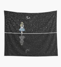 Alice im Wunderland Sternennacht Wandbehang