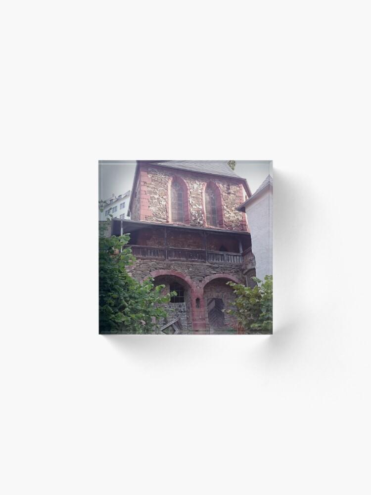 Alternative Ansicht von Kapelle in Stolberg / Harz Acrylblock