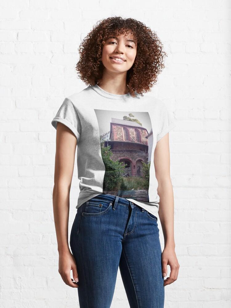 Alternative Ansicht von Kapelle in Stolberg / Harz Classic T-Shirt