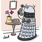 Female Doctor Who Cartoon by Dinktoons