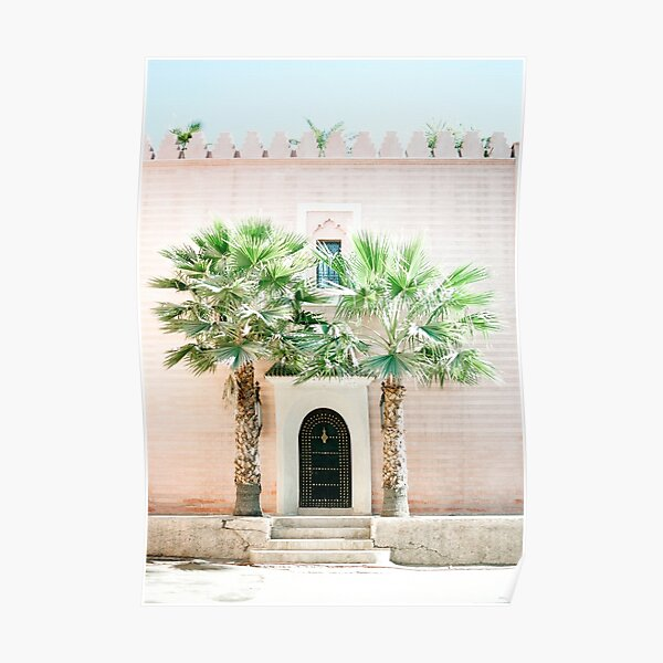 """Travel photography print """"Magical Marrakech"""" photo art made in Morocco. Pastel colored. Art Print Poster"""