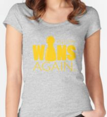 Yellow Wins Again Women's Fitted Scoop T-Shirt