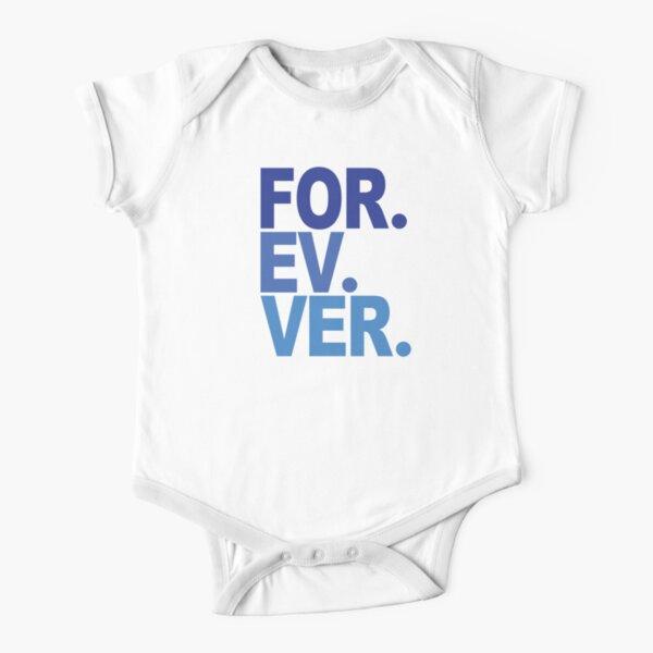 Forever. For-ev-ver. Sandlot Design Short Sleeve Baby One-Piece