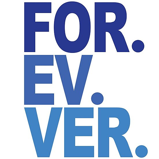 Forever. For-ev-ver. Sandlot Design by Weston Miller