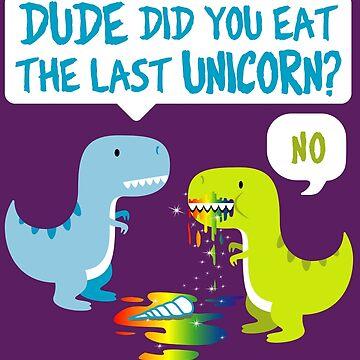 Funny Unicorn, Dinosaur, The Last Unicorn by ShirtPro