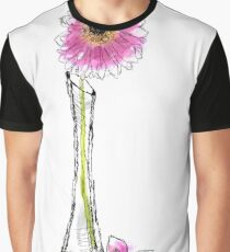 Scribble Vase Graphic T-Shirt