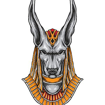 Anubis God Of The Dead by LeNew