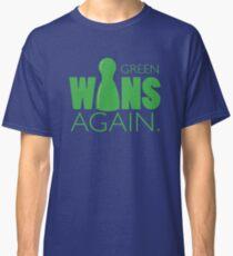 Green Wins Again Classic T-Shirt