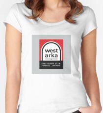 004 | West Arka Matchbook Women's Fitted Scoop T-Shirt