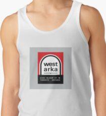004 | West Arka Matchbook Men's Tank Top
