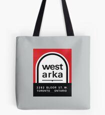 004 | West Arka Matchbook Tote Bag
