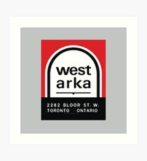 004 | West Arka Matchbook Art Print