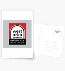 004 | West Arka Matchbook Postcards
