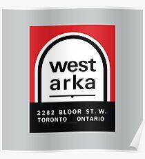 004 | West Arka Matchbook Poster