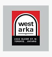 004 | West Arka Matchbook Photographic Print