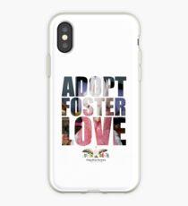 Adopt Foster Love!  Mr. BoBae! iPhone Case