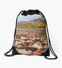 Green River Rocks Drawstring Bag