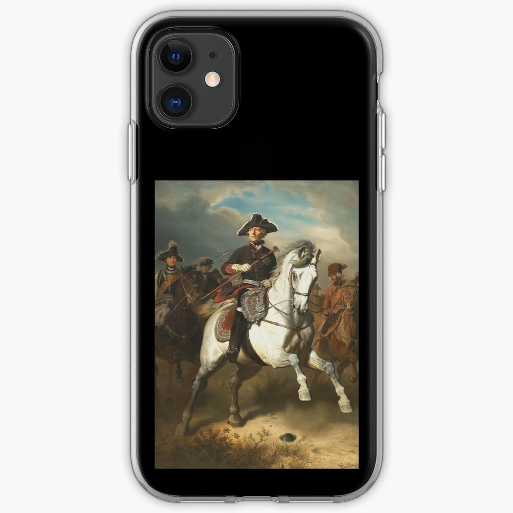 Frederick the Great with his Generals iPhone Case & Cover