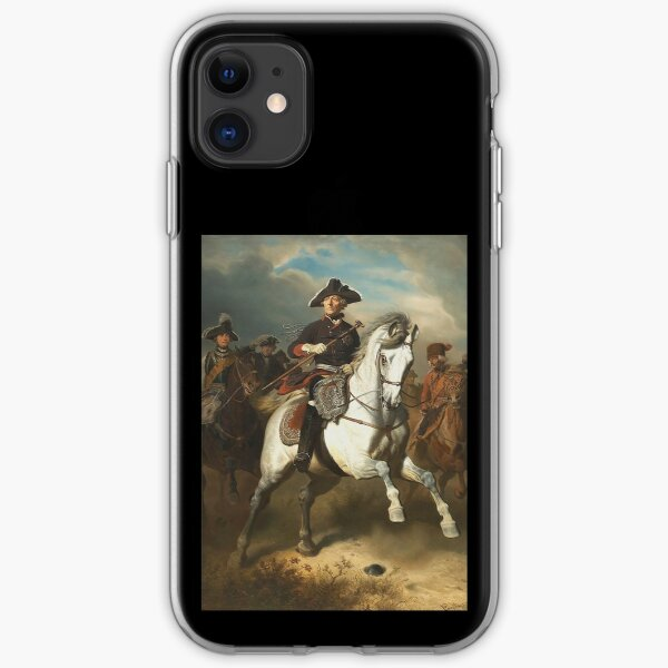 Frederick the Great with his Generals iPhone Soft Case