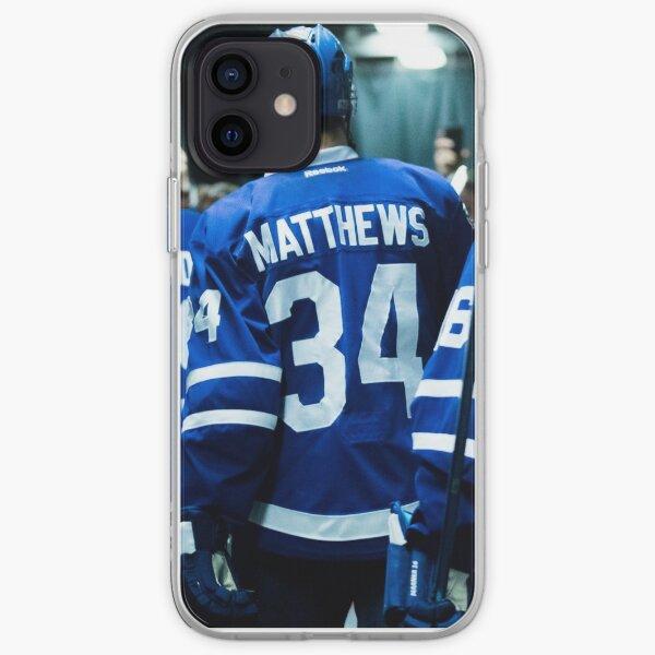 Coque iPhone Hockey - Leaf Matthews 34 Coque souple iPhone