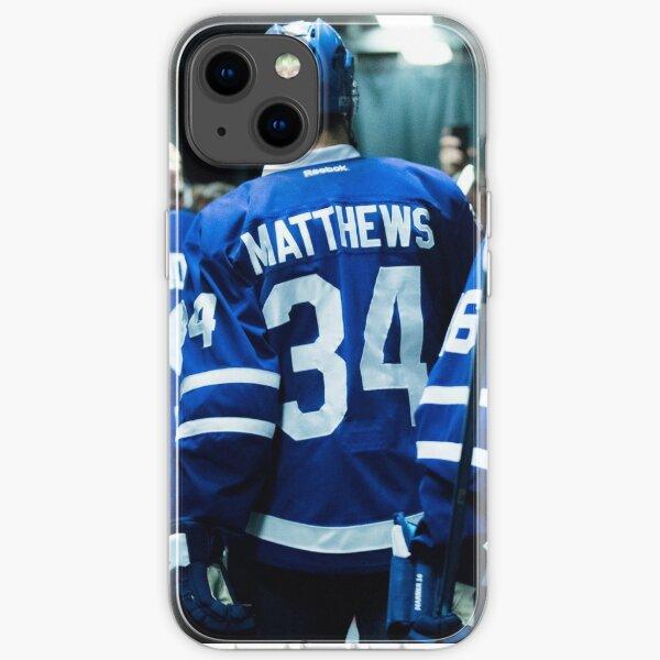 iPhone Case Hockey - Leaf Matthews 34 iPhone Soft Case