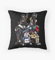 Gorillaz Throw Pillow