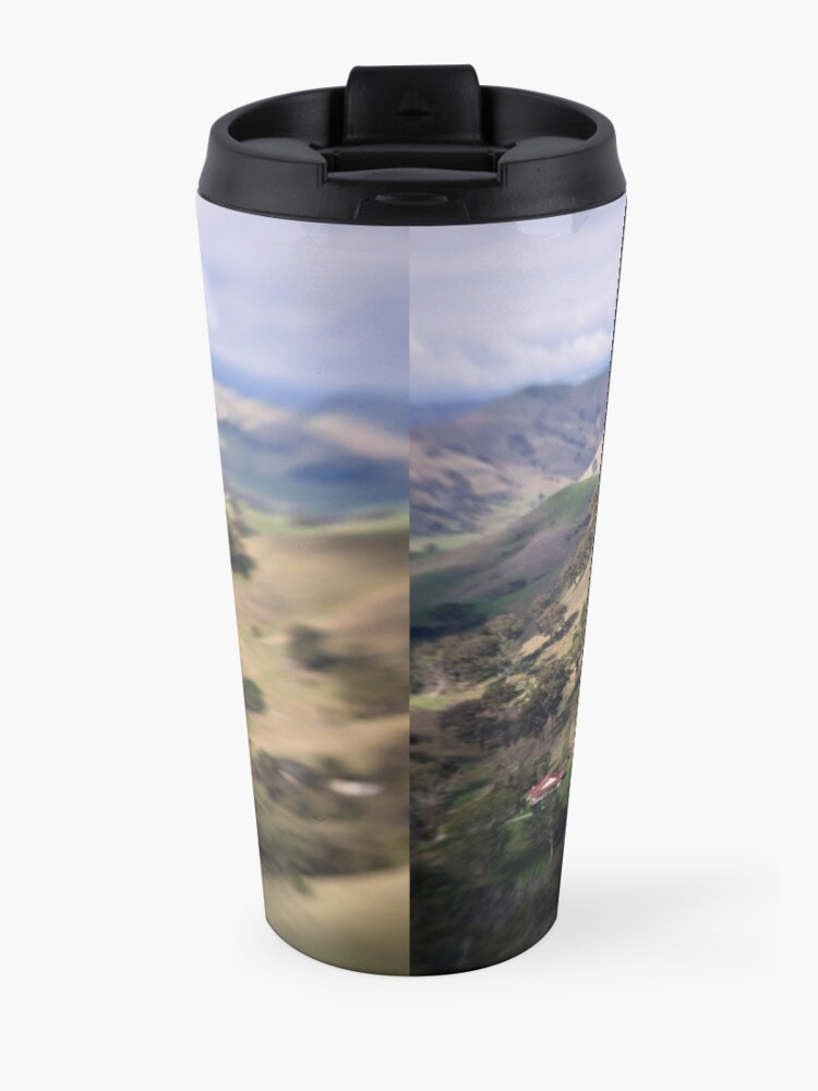 Alternate view of Life in the Valley Travel Mug
