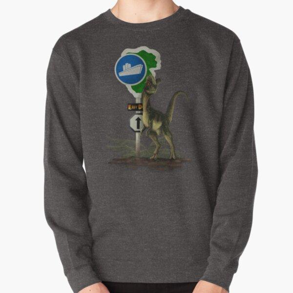 Dilophosaurus - East Dock Pullover Sweatshirt
