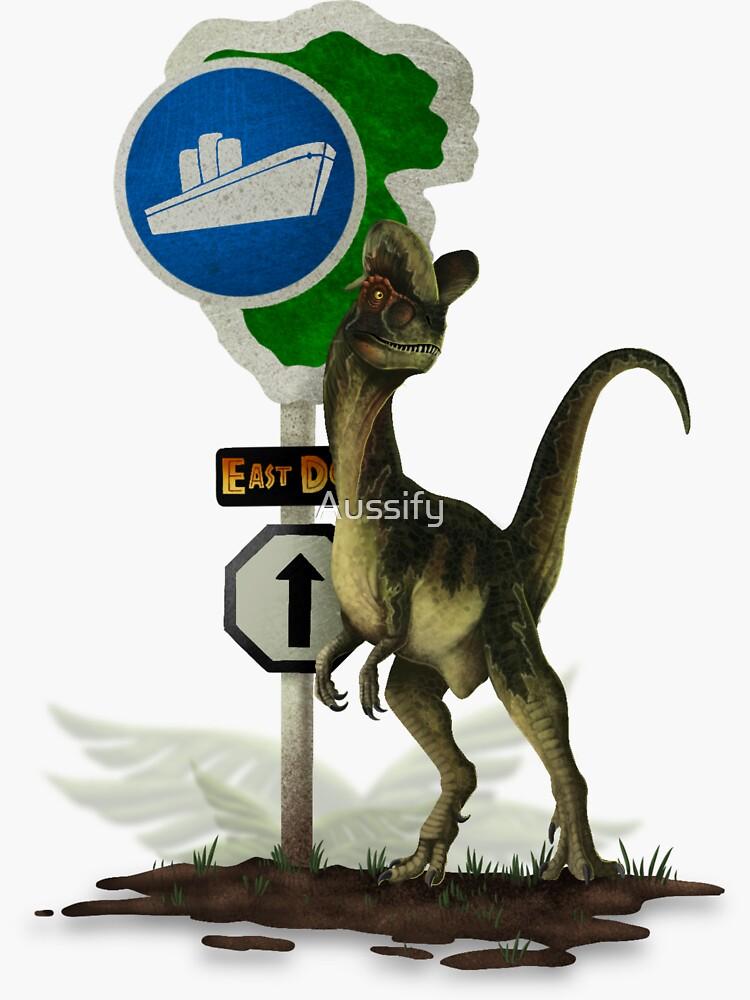 Dilophosaurus - East Dock by Aussify