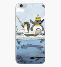 All Hail The Penguin King iPhone Case