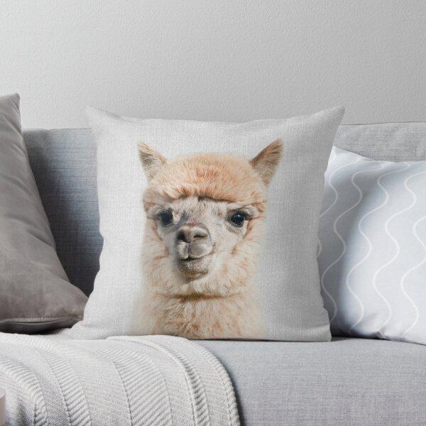 Alpaka - bunt Dekokissen