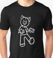Pig Halloween Zombie Unisex T-Shirt