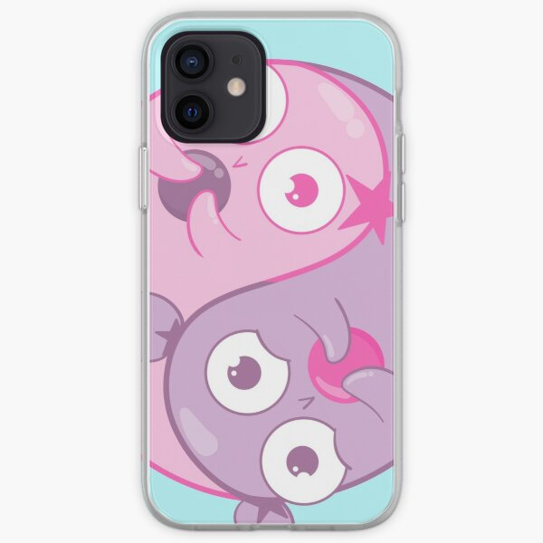 Yin Yang Amoebas iPhone Soft Case