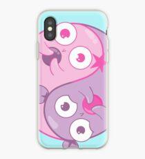 Yin Yang Amoebas iPhone Case