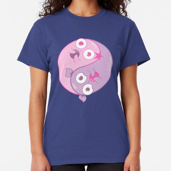 Yin Yang Amoebas Classic T-Shirt