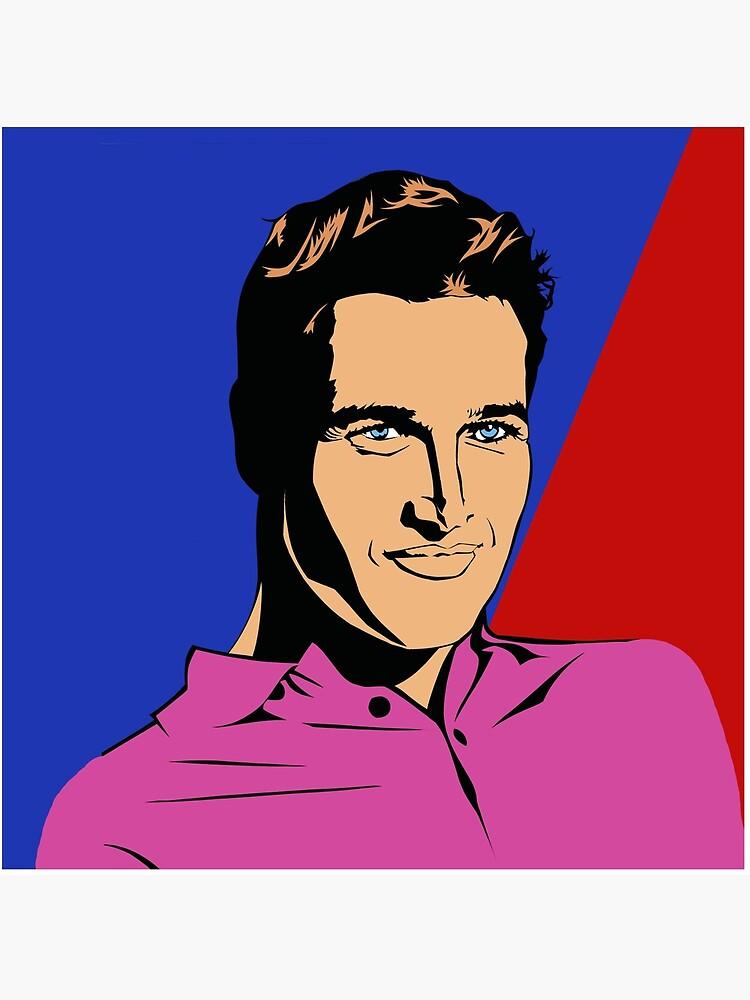 Paul Newman by richackoon