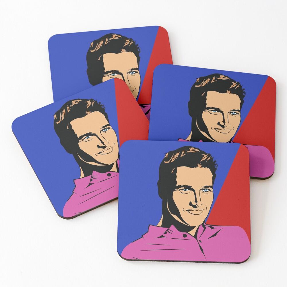 Paul Newman Coasters (Set of 4)