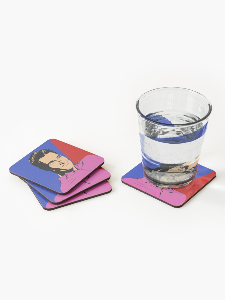 Alternate view of Paul Newman Coasters (Set of 4)