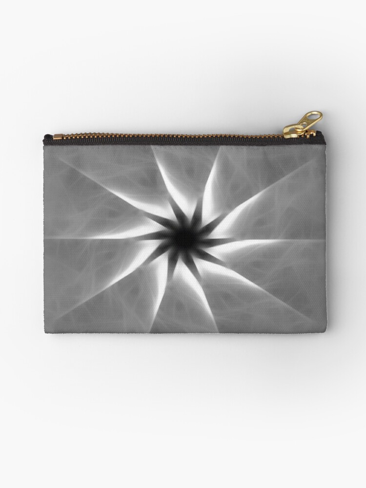 Gray Kaleidoscope Art 25 by Christopher Johnson