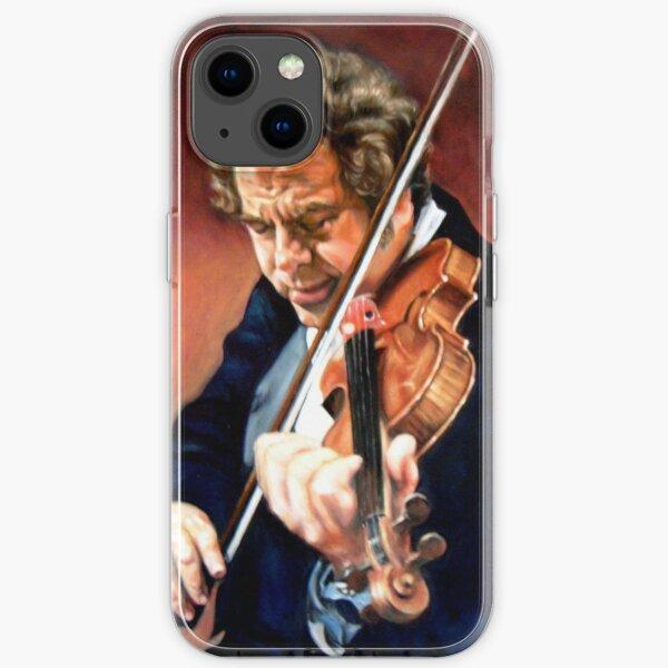 portrait of Itzhak Perlman  iPhone Soft Case