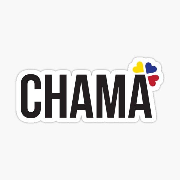 Venezuela - diseño de letras Chama Pegatina
