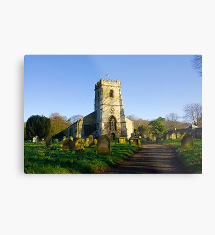 All Saints Church - Settrington Metal Print