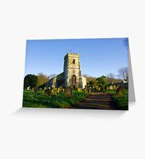 All Saints Church - Settrington Greeting Card