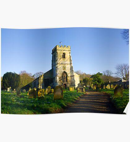 All Saints Church - Settrington Poster