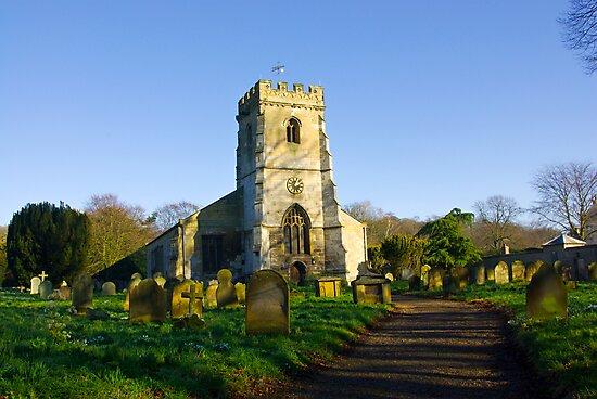 All Saints Church - Settrington by Trevor Kersley