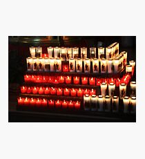 Votive candles Photographic Print