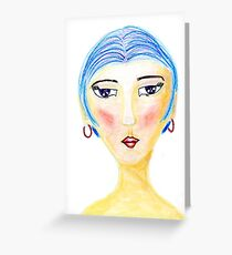For that oh so Chic Woman in your life Greeting Card