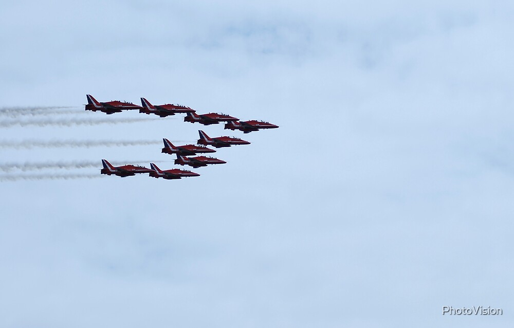 Here Come The Reds by PhotoVision