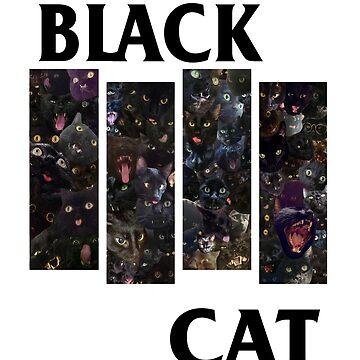 Black Cat by ArtsyPrincess